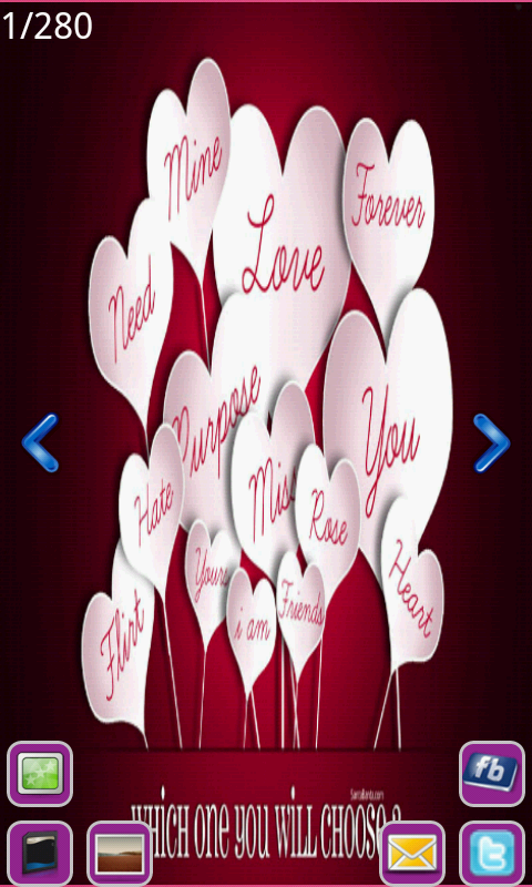 Valentine Greetings screenshot 1