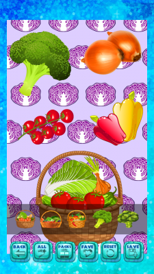 Vegetable Stickers Free screenshot 2