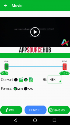 Video to MP3 Converter and Cutter screenshot 1