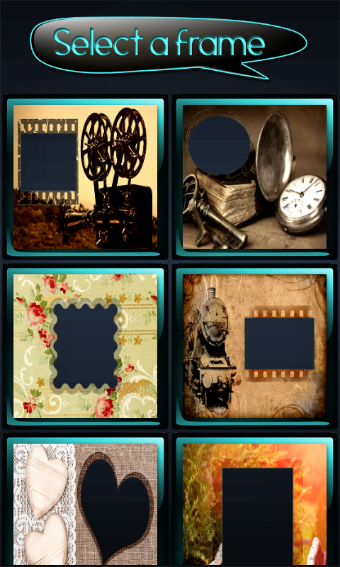 Vintage Photo Frames free APK android app - Android Freeware