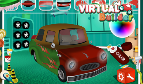 Virtual car builder free android app android freeware for Free virtual builder