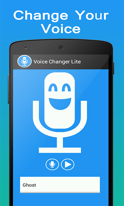 Voice changer lite free apk android app android freeware for Apps to change photos