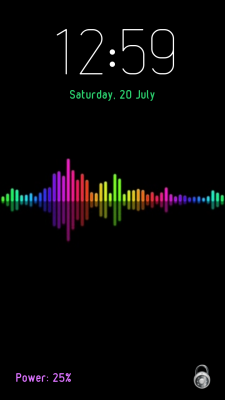 Voice Lock Screen screenshot 1