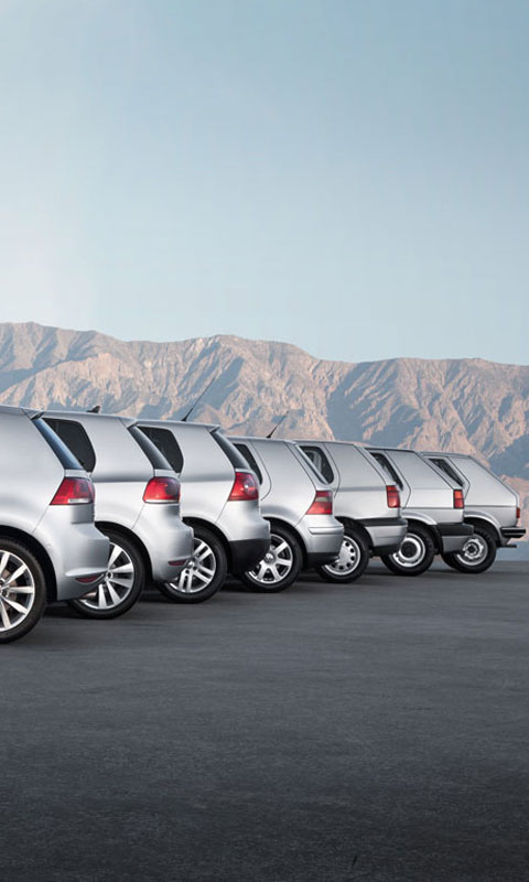 Vw Golf Line From Mk1 To Mk7 Live Wallpaper Apk Download For
