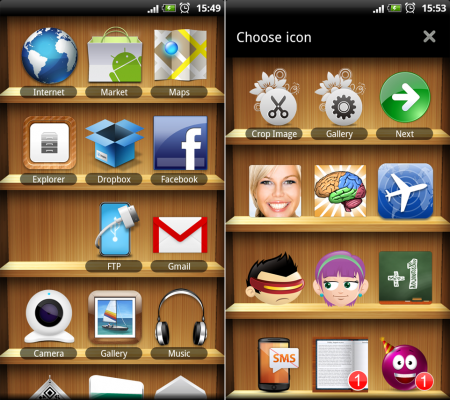 Apps Shelf Free screenshot 1