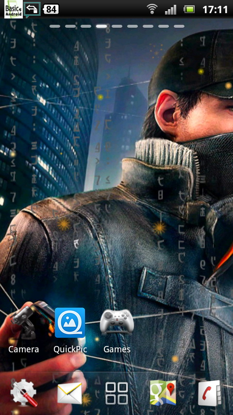 Download Watch Dogs Live Wallpaper 5 free for your Android phone