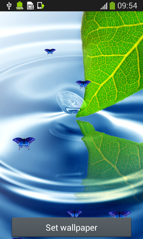 Water Live Wallpapers Top Free App Download Android Freeware