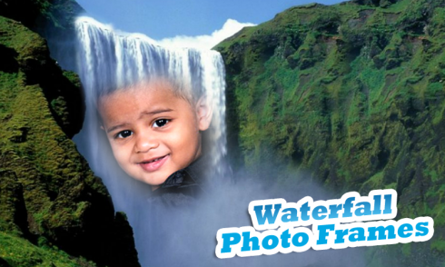 download waterfall photo frames