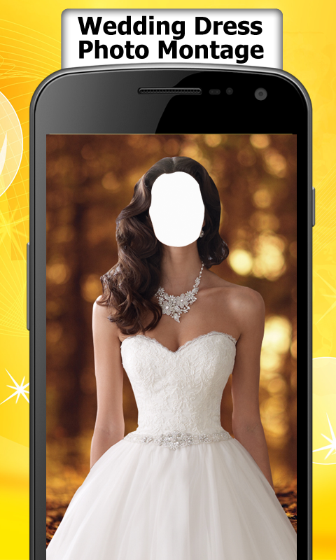 Wedding dress photo montage editor free apk android app for Wedding dresses app