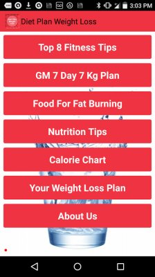 Weight Loss Diet Plan screenshot 1