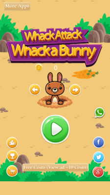 Whack Attack Whack A Bunny Android App Apk By 27th Studio