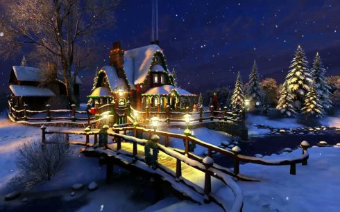 download white christmas live wallpaper - Live Christmas Wallpaper Android