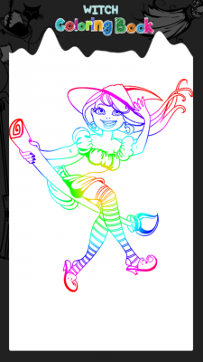 Witch Coloring Book Free APK Android App