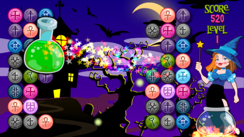 Witch Spheres screenshot 1