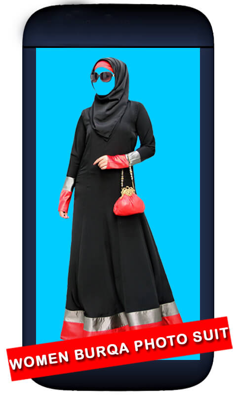 Women Burqa Photo Suit screenshot 1