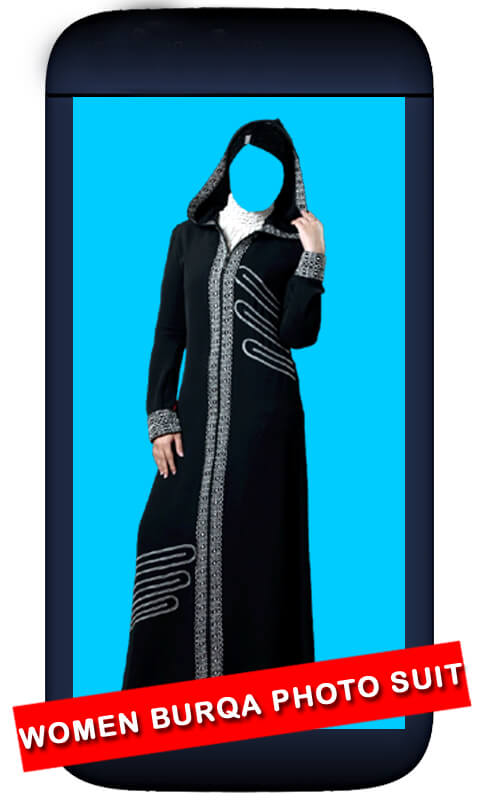 Women Burqa Photo Suit screenshot 2