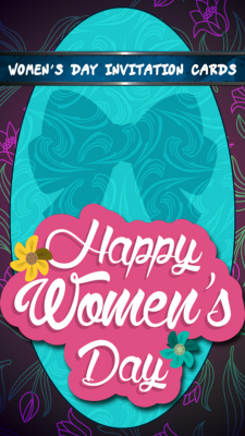 Womens Day Invitation Cards screenshot 1