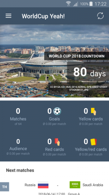 World Cup 2018 - Schedule, standings and more screenshot 1