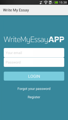 Write my essay app