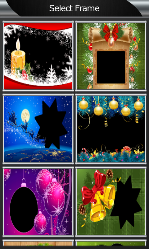 Xmas Photo Frames screenshot 2