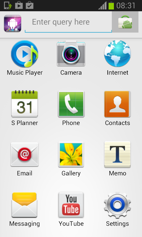 XmDroid desktop for apps screenshot 2