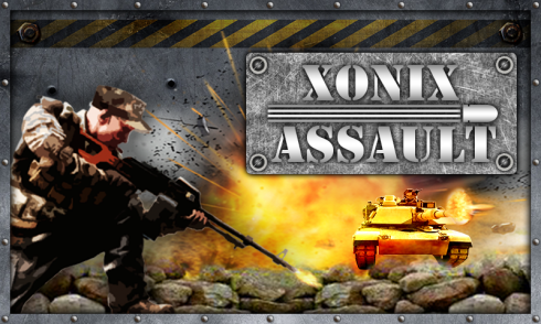 Xonix Assault screenshot 1