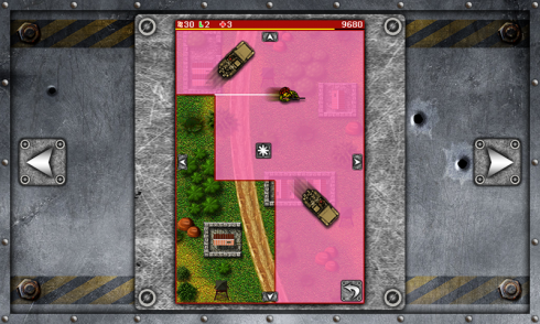 Xonix Assault screenshot 2