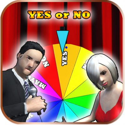 YES or NO wheel - spin to decide