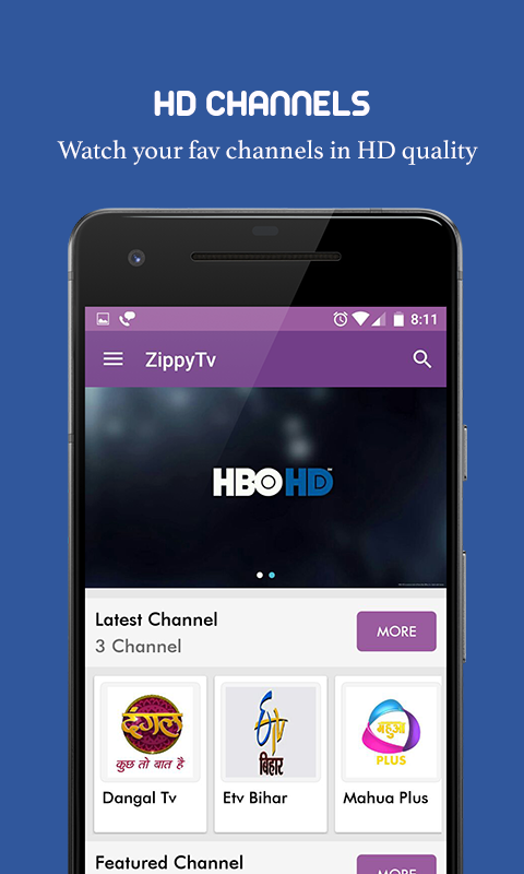 ZippyTv Watch Live Tv Free for Android - Download