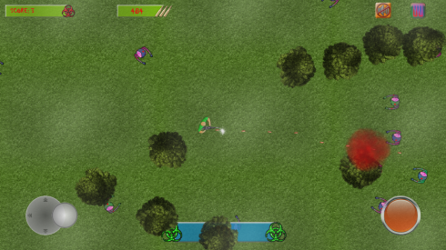 Zombie Survival Shooter screenshot 1